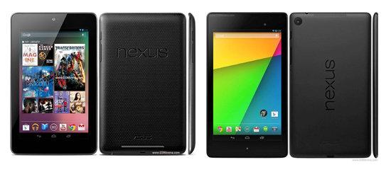 nexus 7 comparison