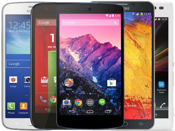 top smartphones 2014