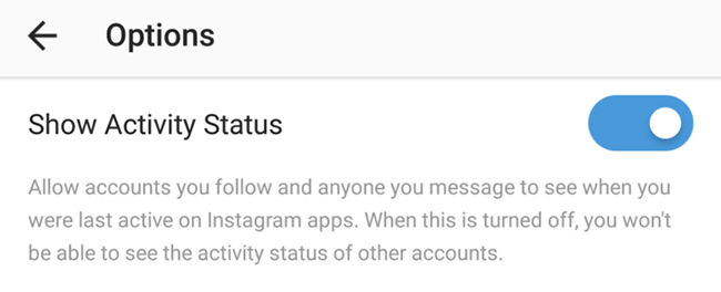 instagram availability